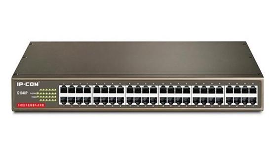 IP-COM G1048P PoE交换机 (24口全千兆PoE交换机)